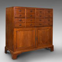 Antique Butler's Cabinet, English, Walnut, Estate, Chest of Drawers, Victorian (13 of 13)