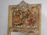Late 19th Century French Trumeau Mirror (4 of 5)