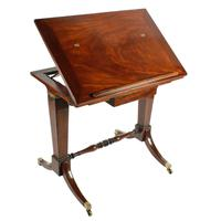 Georgian Gillows Stamped Architect's Table