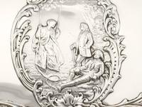 Sterling Silver Jewellery Box - Antique Edwardian (1902) (5 of 15)