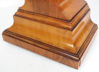 Impressive Solid Walnut Drum Head Striking Mantel Clock PHS Mantle Clock (7 of 12)