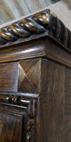 Good Quality Carved Oak Wardrobe. A Gardner & Sons, Glasgow (2 of 13)