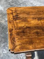 French Oak Farmhouse Refectory Dining Table (18 of 20)