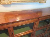 Superb Antique Oak Barrister's Double Glazed Bookcase (2 of 11)