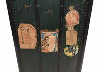 Vintage Steamer Trunk Luggage Case Harrison and  Co New York (11 of 28)