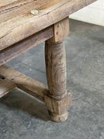 Rare Large & Deep Oak Farmhouse Dining Table (17 of 31)