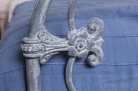 Lovely Rare All Iron Double Bed (3 of 8)