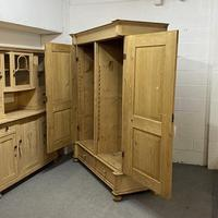 Very Large Antique Pine Wardrobe - dismantles (j0400f) (3 of 6)