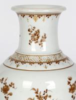 Paris Porcelain En Grisaille Floral Painted Vase c.1830 (9 of 18)