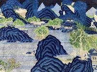 Vintage Chinese Pao-tao Landscape Rug 1.70m x 2.51m (4 of 12)