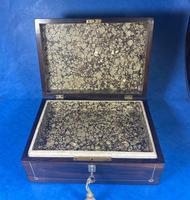 William IV Rosewood Jewellery Box (8 of 13)