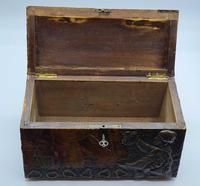 Antique Russian Wood Box with Basma Abramtsevo - Very Large (2 of 13)