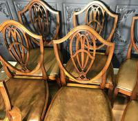 Quality Set of Eight Mahogany Dining Chairs (13 of 18)