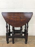 Small 18th Century Gateleg Table (9 of 9)