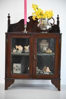 Vintage Wall Mount Glazed Cabinet (2 of 9)