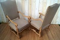 Re-Upholstered Carver Chairs (7 of 8)
