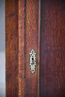 Antique Rustic Oak Hanging Corner Cupboard (10 of 12)