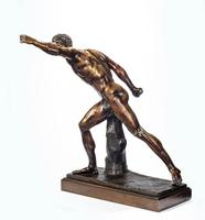 Very Well Cast 19th Century Bronze of a Gladiator (6 of 7)