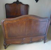 French Walnut Double Bed (2 of 6)