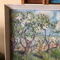Impressionist Artist Gaussen - Oil on Board - Olive Trees c.1945 (3 of 9)