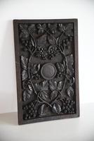 Carved Oak Panel Vines (7 of 9)