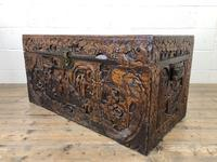 Antique Chinese Camphor Wood Trunk (2 of 14)