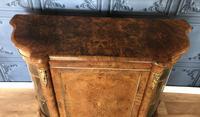 Victorian Burr Walnut Inlaid Credenza With Ormolu Mounts (6 of 27)