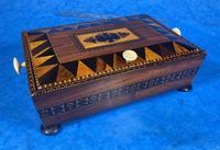 Georgian Kingwood & Tunbridge Ware Table Box (2 of 14)