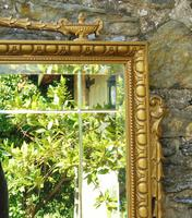 Good Antique Adam's Style Gilt Mirror Bevelled (5 of 5)