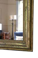 Gilt 19th Century overmantle wall mirror large (5 of 6)