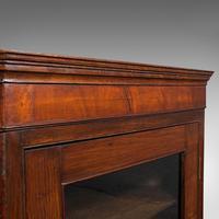 Antique Corner Cabinet, English, Oak, Flame Mahogany, Cupboard, Georgian c.1800 (8 of 12)