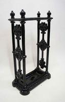 George V Cast Iron Decorative, Umbrella, Stick Stand (8 of 14)