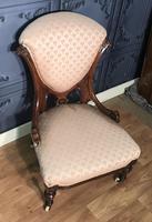 Victorian Burr Walnut & Inlaid Salon Suite (27 of 38)