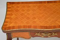 Antique French Inlaid Parquetry Card Table (6 of 12)