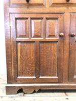 Late 19th Century Welsh Oak Two Stage Cupboard with Glazed Top (7 of 10)