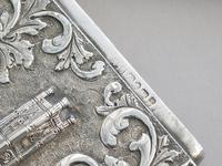 Victorian Silver Castle-top Card Case - St Luke's Church, Liverpool by Nathaniel Mills, Birmingham, 1845 (7 of 12)