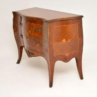 Antique French Inlaid Marquetry Bombe Chest (11 of 11)