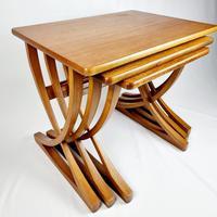 Nathan X-frame Legged Nest of Tables (2 of 11)
