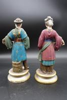 Charming Pair of Early 20th Century Meissen Figures in Oriental Garb (5 of 9)