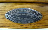 Rare Pair of Oak Medical Side Tables - Chas Thackray and Son c1910 (13 of 15)
