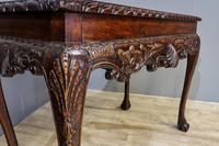 Carved Mahogany Side Table (4 of 7)