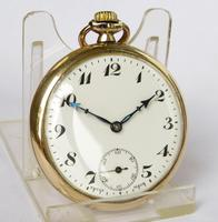 1930s Unitas stem winding pocket watch (4 of 4)