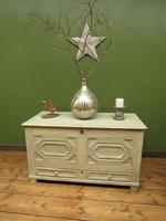Large Gustavian Style Painted Coffer Blanket Box, Scandanavian Painted Chest (7 of 20)