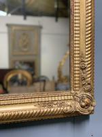 Large French gilt landscape overmantle mirror (3 of 6)