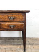 Early 19th Century Oak Lowboy Side Table (12 of 13)