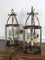 French Gilt Bronze Circular Lantern (10 of 11)