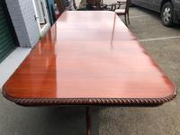 Quality Mahogany Extending Dining Table (7 of 15)