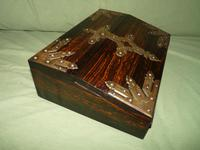 QUALITY Betjemann Coromandel Writing Box. 100% Original c1870 (5 of 15)