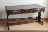 Hardwood Stretcher Table from the Late Regency Period (8 of 11)