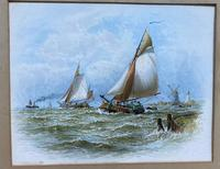 19th Century Marine Sketch After George Stanfield Walters